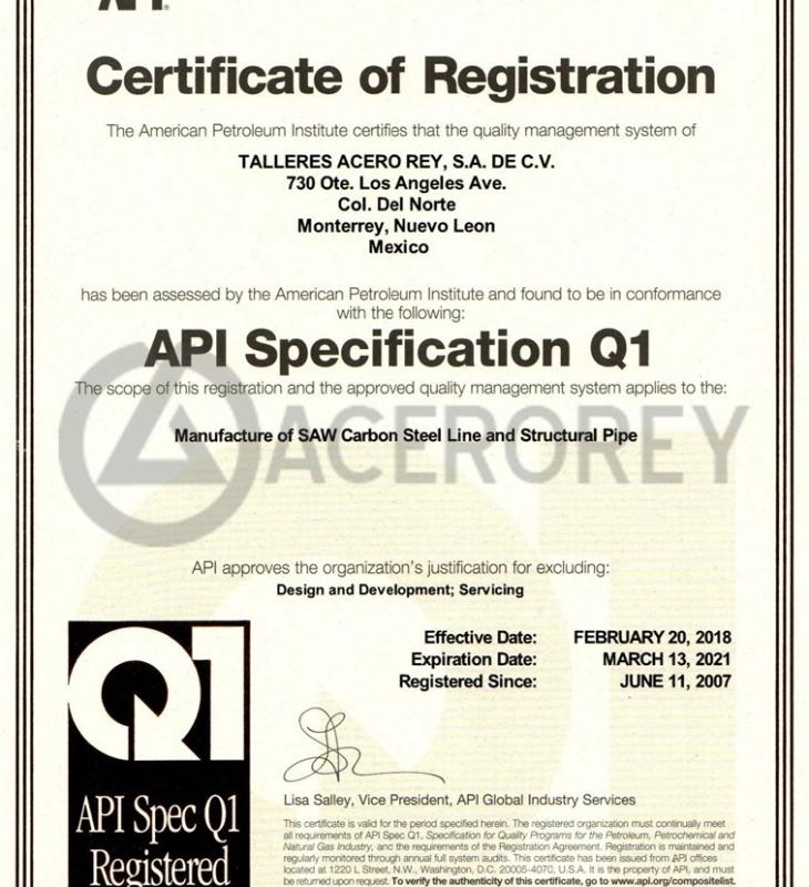 API Q1